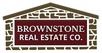 Logo for Brownstone Real Estate Company
